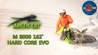 "4. Arctic Cat M 8000 162"" HARD CORE EVO"