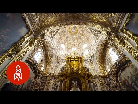 Glorious Gilded Glittering Gold Chapel