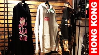 HONG KONG   Best Streetwear/Fashion Shops to Visit!! (Bape, Consignment Stores..)