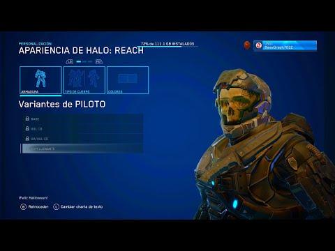 HALO: REACH | TODAS LAS ARMADURAS!