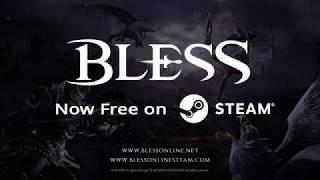 Релиз Bless Online и переход на Free to Play