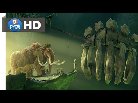 Ice Age 3 Hindi (11/18) Crossing Death Valley & Comedy Scene MovieClips