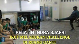 Video Keseruan di ruang ganti pelatih Indra sjafri ikut lakukan CHALLENGE jelang  laga terakhir piala aff MP3, 3GP, MP4, WEBM, AVI, FLV September 2017