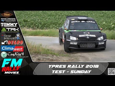 Ypres rally 2018 | TEST | Verschueren - Muylle - Snaet - Depla [HD]