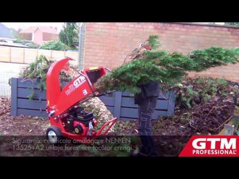 Tocator crengi lemn resturi vegetale GTS 1300