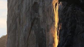 Yosemite Natural Firefall 2016