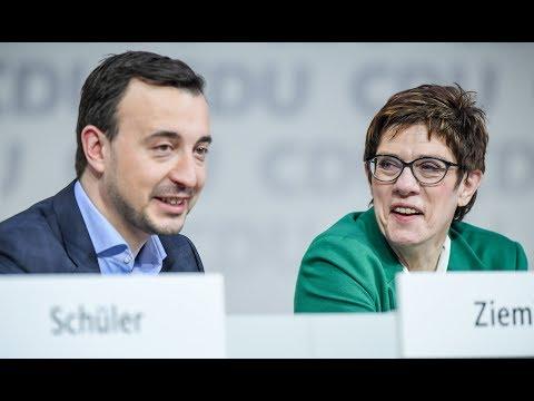 Neuausrichtung der CDU: AKK will Werkstattgespräch zu ...