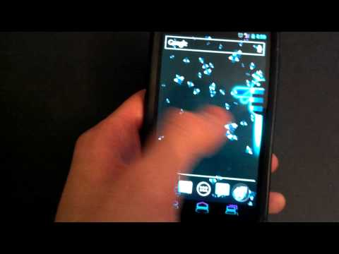 Video of Live Wallpaper - Honeycomb LWP