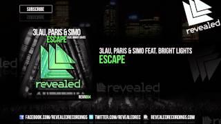 Thumbnail for 3LAU, Paris & Simo ft. Bright Lights — Escape