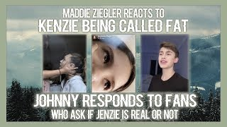 Maddie ziegler reacts to kenzie being fat shamed + JENZIE IS REAL ?!