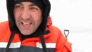 Lake Simcoe ICEFISHING Ice Report Dec,27,2016