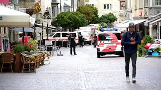 A man armed with a chainsaw wounded five people in Switzerland on Monday (July 24). Police launching a manhunt for the ...