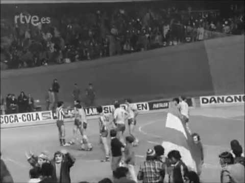 Balonmano 1977 At. de Madrid - MAI de Moscu