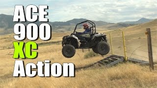5. Polaris Ace 900 XC First Ride Action