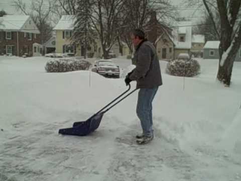 I hate snow shoveling - Sleigh / Sled Shovel Product Review