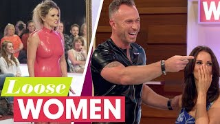 Subscribe now for more! http://bit.ly/1VGTPwA James Jordan dressed his wife in his perfect outfit during the Loose Women and Loved Ones special, but now it's her turn to take a little revenge. From series 21, broadcast on 19/07/2017Like, follow and subscribe to Loose Women!Website: http://bit.ly/1EDGFp5YouTube: http://bit.ly/1C7hxMyFacebook: http://on.fb.me/1KXmWdcTwitter: http://bit.ly/1Bxfxtshttp://www.itv.comhttp://www.stv.tv