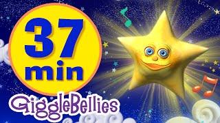 Twinkle Twinkle Little Star | 11 More Lullabies & Nursery Rhymes | Giggle Bellies