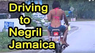 Negril Jamaica  city photo : Driving to Negril Jamaica
