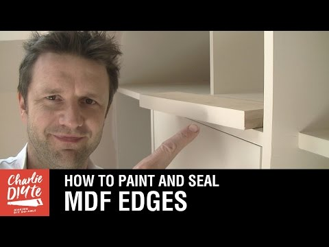 How to Seal and Paint MDF Edges - Video #2 (видео)
