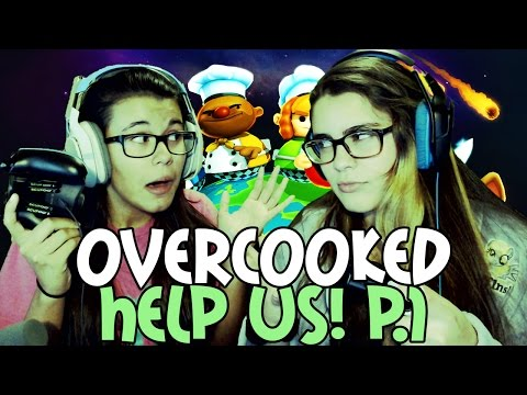 Overcooked Co-Op Let's Play Part 1 - HELP US! (Xbox One)
