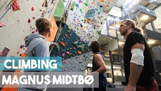 1 Year In The Making - Magnus Midtbø - Climbing And Exploring The Gym by Eric Karlsson Bouldering