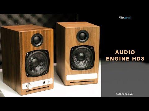 Audioengine HD3 Wireless - Chiếc loa để bàn thông minh đậm chất cổ điển