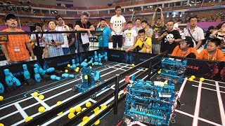 Teenagers from across China competed in the RoboCom 2017 national championships in Wuhan, the capital of central Hubei Province. 5,248 youngsters took part in the final, breaking previous records. Subscribe to us on YouTube: https://goo.gl/lP12gADownload our APP on Apple Store (iOS): https://itunes.apple.com/us/app/cctvnews-app/id922456579?l=zh&ls=1&mt=8Download our APP on Google Play (Android): https://play.google.com/store/apps/details?id=com.imib.cctvFollow us on:Facebook: https://www.facebook.com/ChinaGlobalTVNetwork/Instagram: https://www.instagram.com/cgtn/?hl=zh-cnTwitter: https://twitter.com/CGTNOfficialPinterest: https://www.pinterest.com/CGTNOfficial/Tumblr: http://cctvnews.tumblr.com/Weibo: http://weibo.com/cctvnewsbeijing