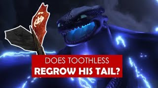 Video Does Toothless regrow his tail? [ How to Train Your Dragon 3: The Hidden World ] MP3, 3GP, MP4, WEBM, AVI, FLV Desember 2018