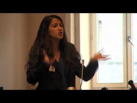 Droit des femmes au Maroc : Intervention de Zineb El Rhazoui au Sénat de Belgique