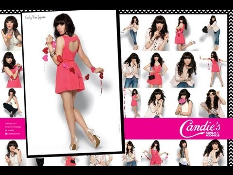 Carly Rae Jepsen New Candie's Girl!