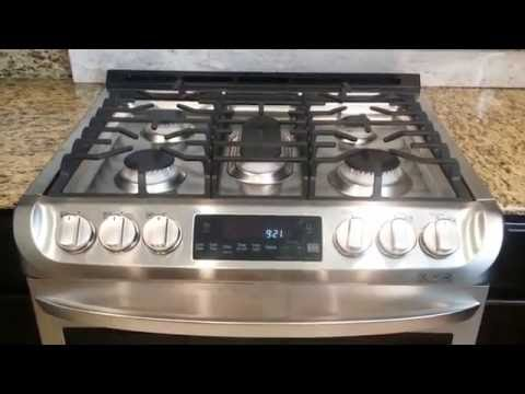 LG Electronics Gas Slide-In Range with Probake Convection - DEMONSTRATION