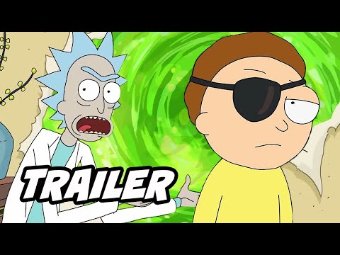 Rick and Morty Season 4 Episode 10 Finale Trailer Breakdown and Easter Eggs