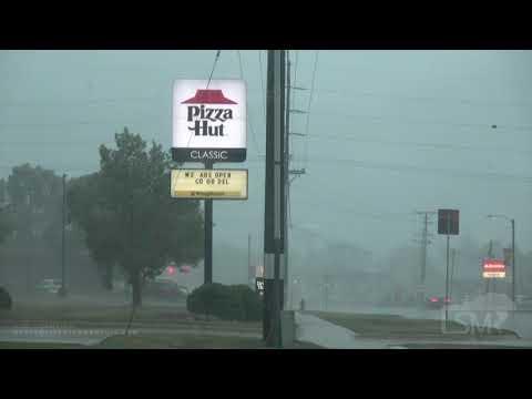 08-10-2020 Dewitt, Iowa - Extreme Derecho Winds & Damage