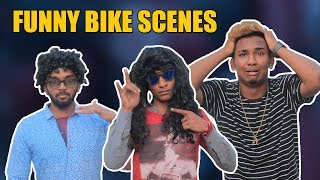 Funny Bike Scene ft. Jamal Gadu | Hyderabadi Comedy | Warangal Diaries