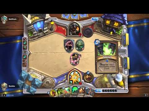 Hearthstone ramp druid vs life coach hunter well played!