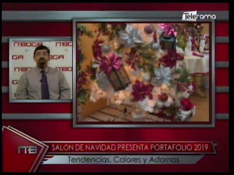 Salón de navidad presenta portafolio 2019 tendencias, colores y adornos