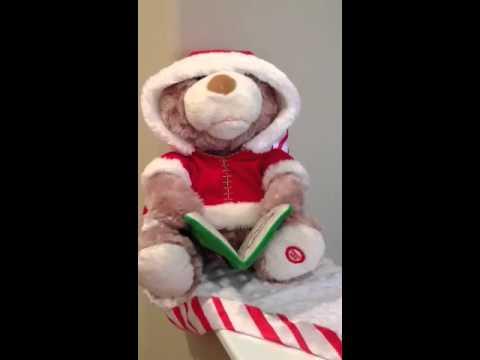 'twas the night before Xmas teddy bear style