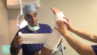 Watch The Private Clinic patient, Rob Crawley, undergo a Varicose Veins Endovenous Laser Ablation (EVLA) and Sclerotherapy treatment procedure.