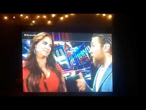 Survivor Series: Stephanie McMahon and Dainel Bryan Backstage Segment