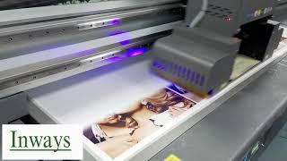 Inways Digital UV Flatbed Printer F2030-G6 youtube video