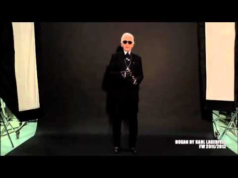 Video | Karl Lagerfeld on Hogan