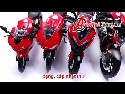 Các Mẫu Xe Mô Hình Ducati Tỉ Lệ 1:12 Maisto