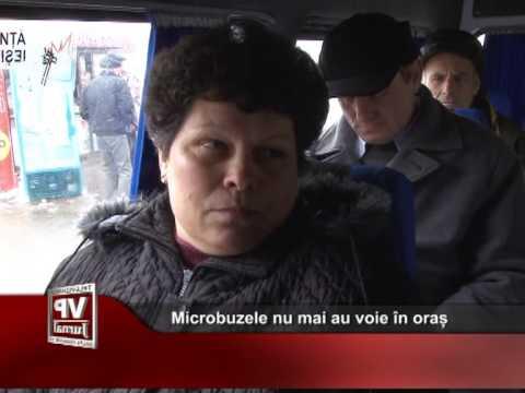 Microbuzele nu mai au voie în oraș