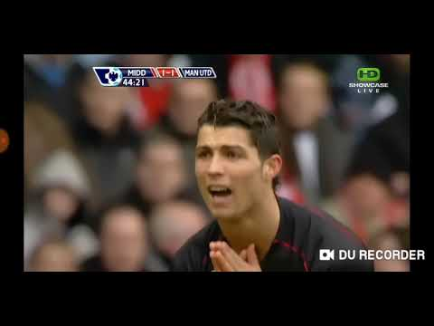 Cristiano Ronaldo VS Middlesbrough  (2008)