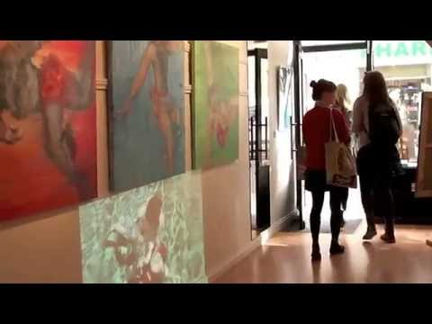 Jean Nestares at Greenlane Gallery in Paris, France.