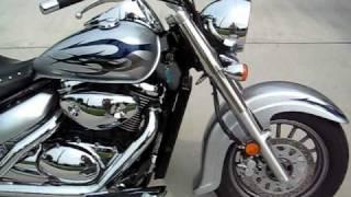9. 2008 Suzuki Limited Edition Boulevard C50 with Cobra Streetrod Slashdown Pipes