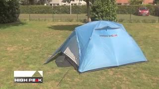 Трехместная трекинговая палатка High Peak Kingston 3