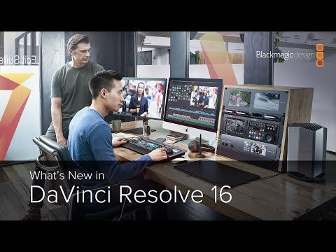 What's New in DaVinci Resolve 16