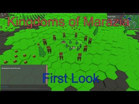 First look: MMORTS Kingdoms Of Marazia