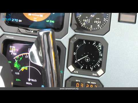Flight Guayaquil Loja Ecuador ATR42-500 Tame - HD